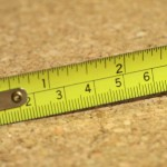 tape measure used by handyman